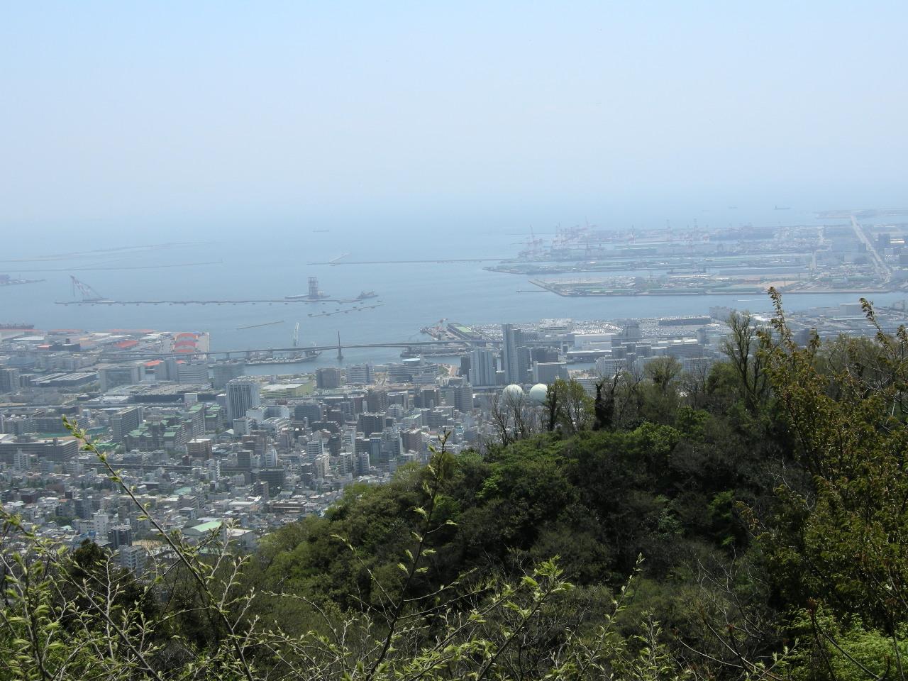 神戸からの大阪湾岸かなと