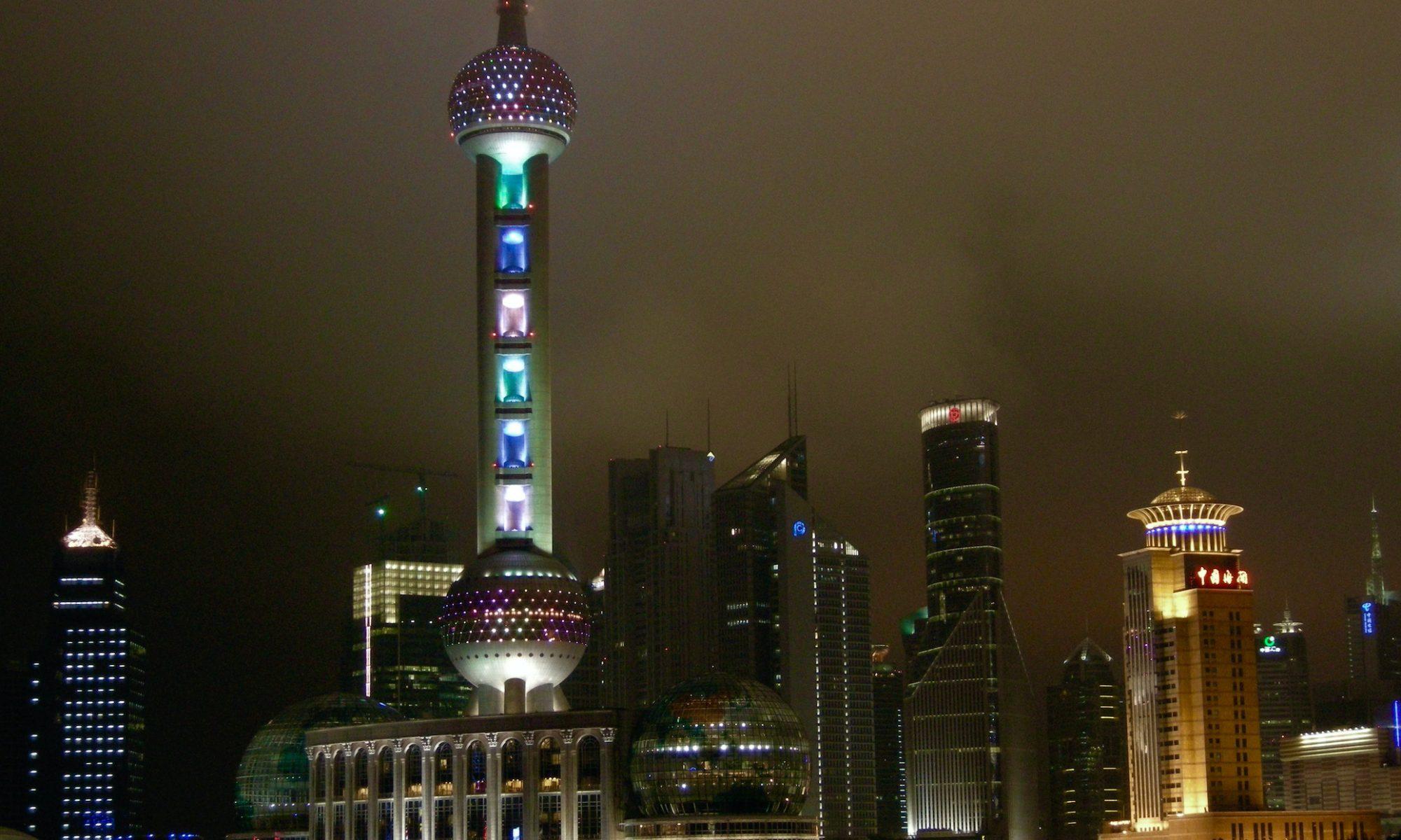 いつの時代でも怪しさ満載な雰囲気の上海